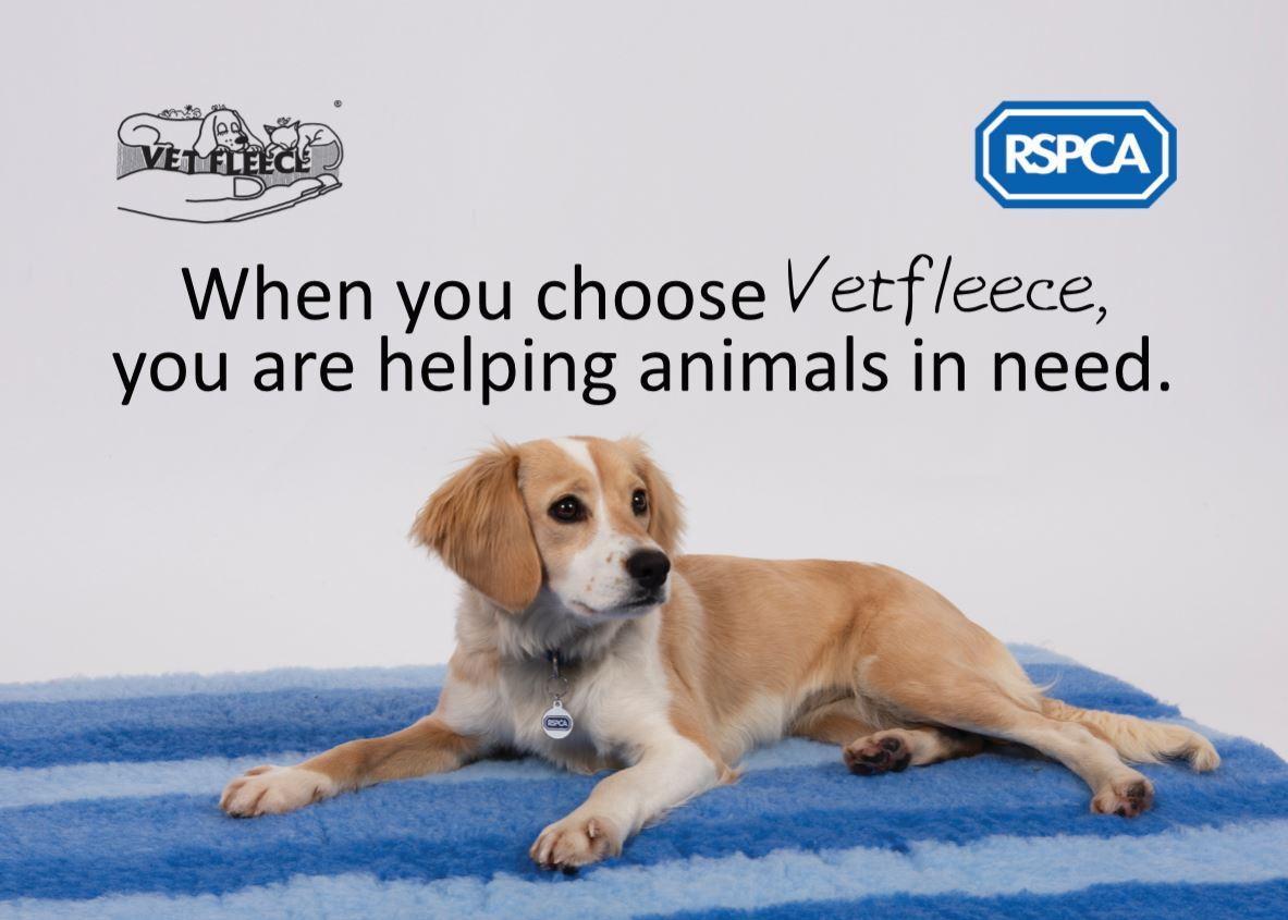 Vetfleece RSPCA Donation
